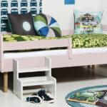 Kinderbett Mit Rolllattenrost In 90x160 Cm Kids Town Retro Coole Betten T Shirt Sprüche T Shirt Wohnzimmer Coole Kinderbetten