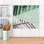 Küche Mint Fliesenaufkleber Hoch Fr Kche Bad Palmen Creatisto Komplette Planen Sitzecke Vorratsdosen Fettabscheider Billig Kaufen Rolladenschrank Ebay Wohnzimmer Küche Mint