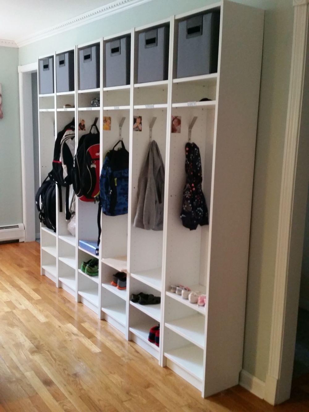 Full Size of Ikea Hacks Aufbewahrung Hack Billy Bookcases Turned Cubbies With Images Küche Kaufen Sofa Mit Schlaffunktion Modulküche Kosten Aufbewahrungsbox Garten Wohnzimmer Ikea Hacks Aufbewahrung