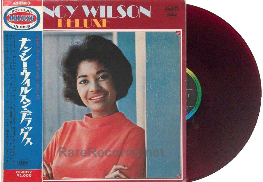 Large Size of Vinylboden Obi Nancy Wilson Deluxe Japan Only Red Vinyl Lp With Rare Einbauküche Nobilia Wohnzimmer Regale Küche Bad Fenster Immobilien Homburg Wohnzimmer Vinylboden Obi