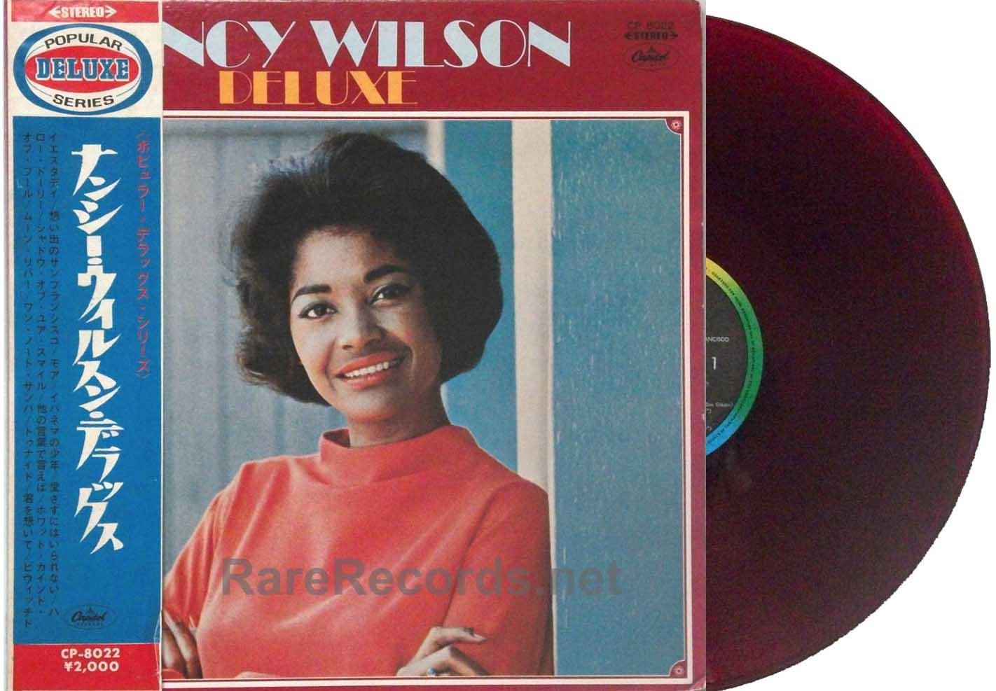 Full Size of Vinylboden Obi Nancy Wilson Deluxe Japan Only Red Vinyl Lp With Rare Einbauküche Nobilia Wohnzimmer Regale Küche Bad Fenster Immobilien Homburg Wohnzimmer Vinylboden Obi