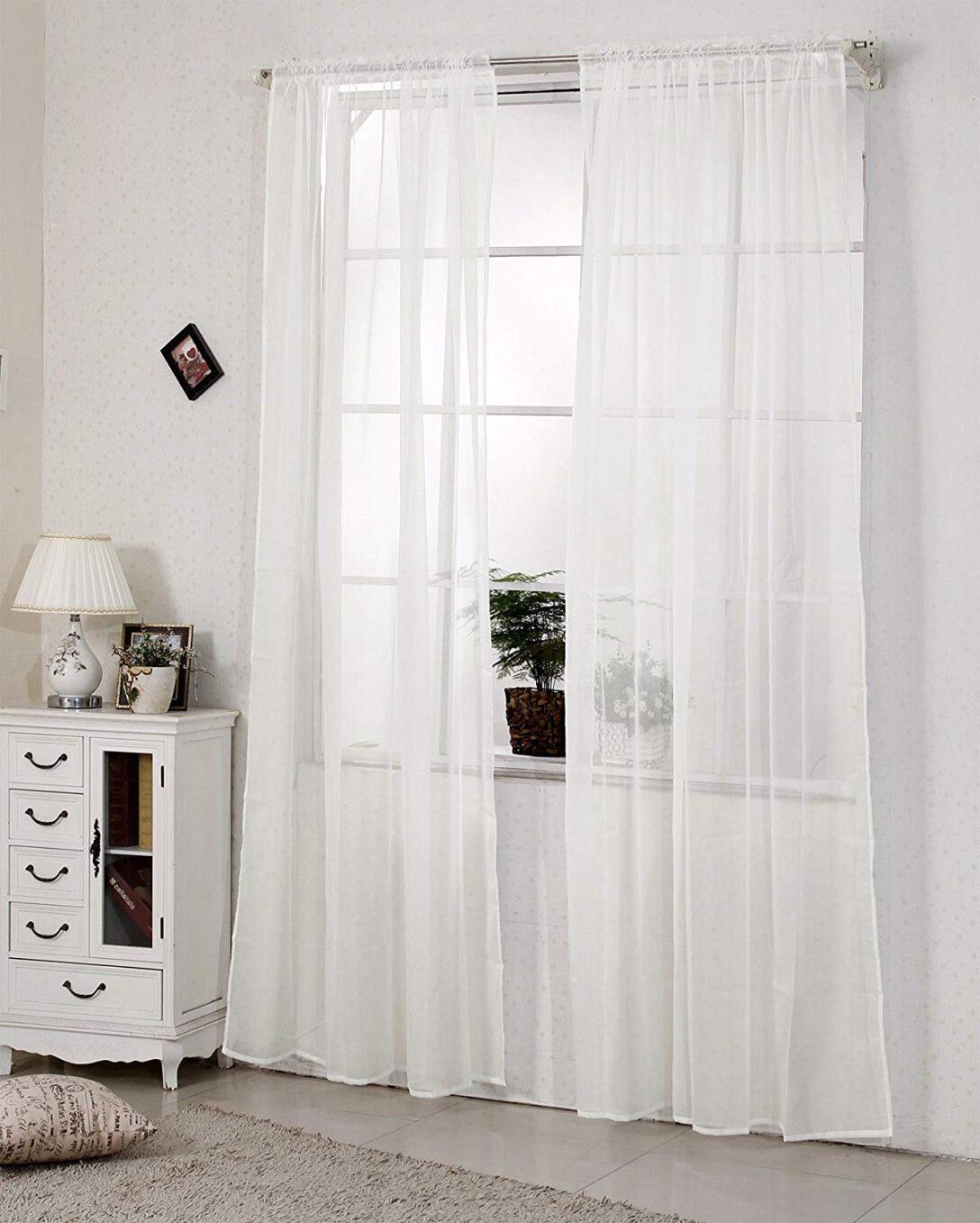 Large Size of 2er Set Gardinen Doppelpack Vorhnge Transparent Mit Kruselband Vorhänge Küche Wohnzimmer Schlafzimmer Wohnzimmer Vorhänge Schiene