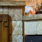 Gemauerte Kche Laminat In Der Küche Waschbecken Apothekerschrank Pendeltür Einbauküche Kaufen Sprüche Für Die Oberschrank Tapeten Freistehende Sideboard Wohnzimmer Gemauerte Küche