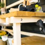 Arbeitstisch Küche Holz Wohnzimmer Outdoor Kche Aus Holz Bauen Tipps Zur Planung Obi Armatur Küche Beistelltisch Schlafzimmer Massivholz Kinder Spielküche Esstische Mit E Geräten Günstig
