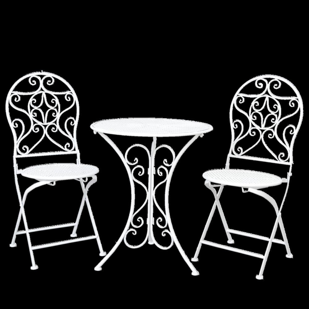 Full Size of Garten Schaukelstuhl Metall Bistro Tisch Mit 2 Sthlen Wei Von Clayre Eef Gnstig Und Landschaftsbau Berlin Sauna Spielturm Spaten Pavillon Gaskamin Schaukel Wohnzimmer Garten Schaukelstuhl Metall