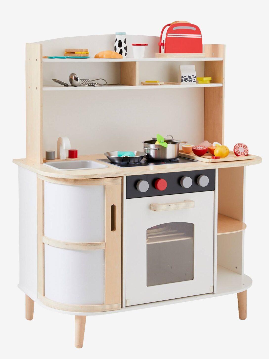 Large Size of Vertbaudet Spielkche Haute Cuisine In Wei Natur Kinder Spielküche Wohnzimmer Spielküche