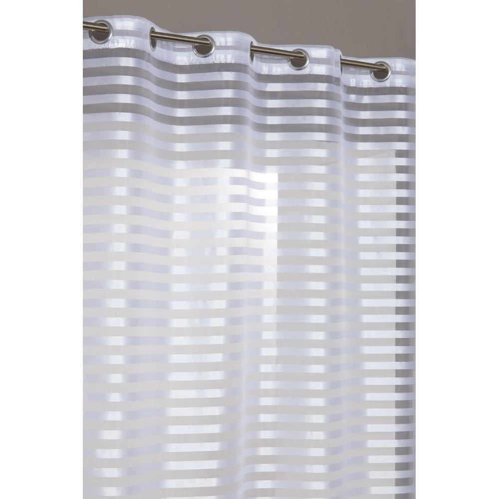 Full Size of Scheibengardinen Blickdicht Vorhang Gardine Streifen Seidig Glanzeffekt Sen Wei Küche Wohnzimmer Scheibengardinen Blickdicht