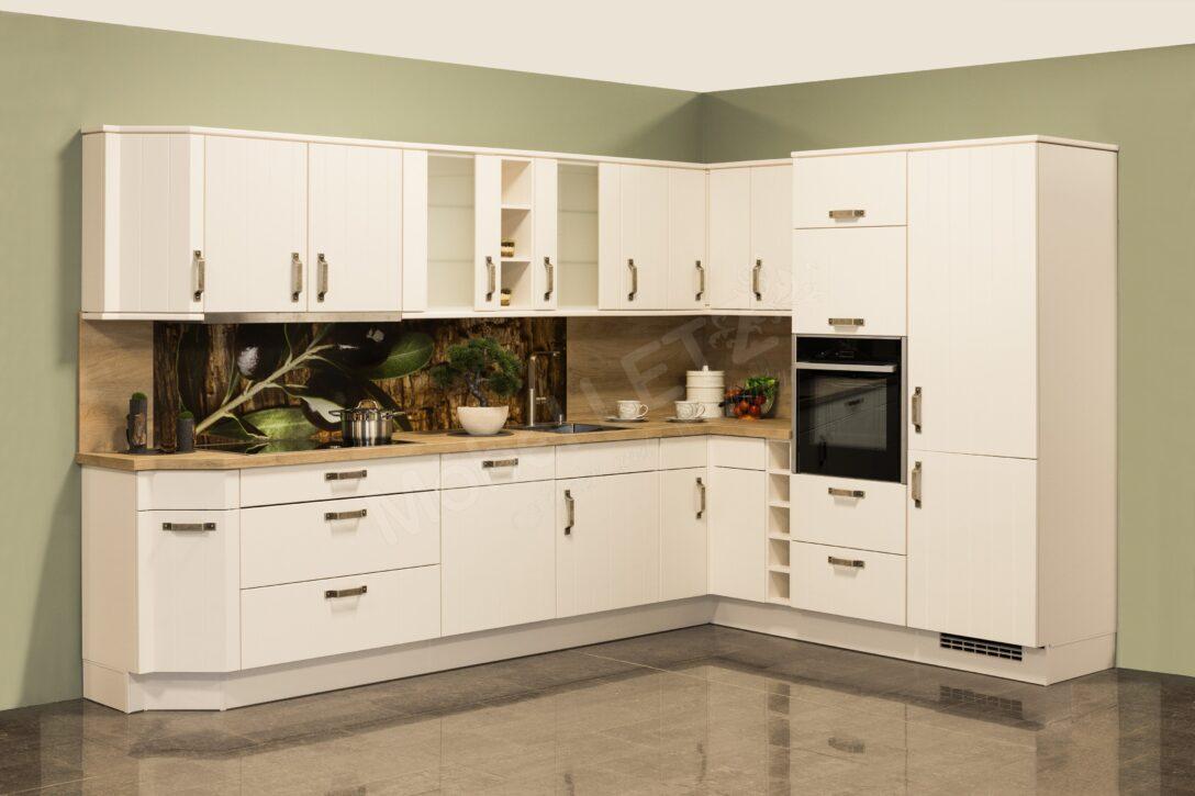 Large Size of Nobilia Flair 636 Winkelkche In Magnolia Matt Mbel Letz Ihr Einbauküche Küche Wohnzimmer Nobilia Magnolia