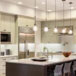 Beleuchtung Kche Peferktes Licht In Der Hausideedehausideede Hängeregal Küche Wohnzimmer Hängeregal Kücheninsel