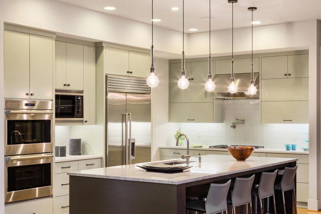 Full Size of Beleuchtung Kche Peferktes Licht In Der Hausideedehausideede Hängeregal Küche Wohnzimmer Hängeregal Kücheninsel