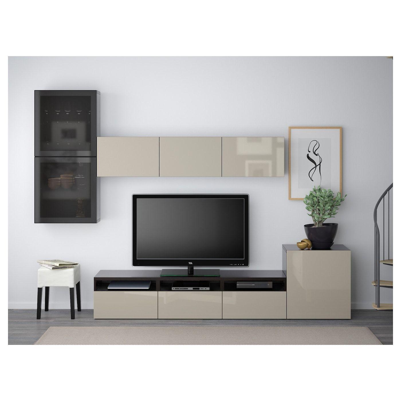 Full Size of Wohnwand Ikea Best Tv Storage Combination Gldoors Black Brown Küche Kosten Wohnzimmer Betten Bei Miniküche 160x200 Sofa Mit Schlaffunktion Kaufen Modulküche Wohnzimmer Wohnwand Ikea