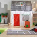 Baldachin Kinderbett Diy Anleitung Haus Bauanleitung Obi Rausfallschutz Ikea Hacks Fr Das Kura Im Kinderzimmer Wohnzimmer Kinderbett Diy
