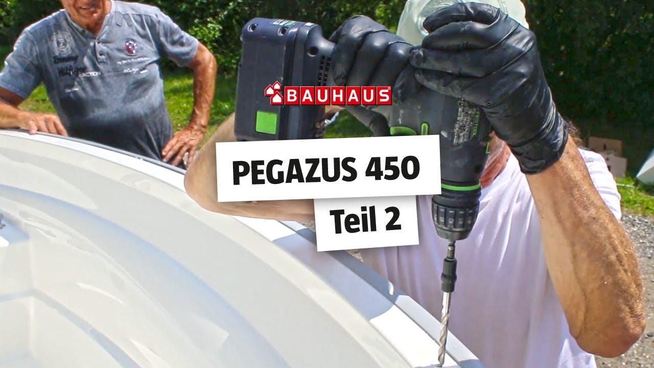Full Size of Paravent Bauhaus Pegazus Gfk Boot 450 Basic Motorleistung Ohne Motor Garten Fenster Wohnzimmer Paravent Bauhaus