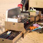 Mobile Küche Camping Wohnzimmer Overland Kitchen Von Scout Equipment Ausziehbare Outdoor Magnettafel Küche Aufbewahrung Industrielook Eckschrank Pendelleuchten Singleküche Mit E Geräten