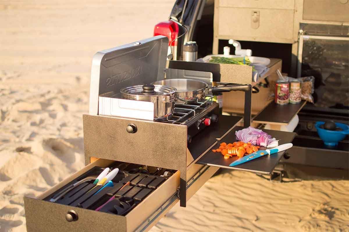 Full Size of Overland Kitchen Von Scout Equipment Ausziehbare Outdoor Magnettafel Küche Aufbewahrung Industrielook Eckschrank Pendelleuchten Singleküche Mit E Geräten Wohnzimmer Mobile Küche Camping