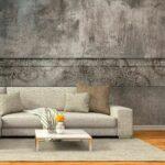 Fototapete Grau Vlies Tapete Schlafzimmer Wandbilder Steinwand Ebay Graues Regal Küche Hochglanz Sofa Weiß Bett Esstisch Big Stoff Wohnzimmer 3er Xxl Wohnzimmer Fototapete Grau