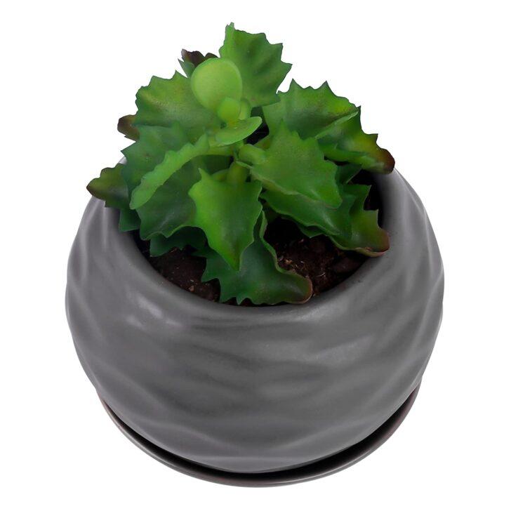 Medium Size of Kräutertopf Keramik Purelifestyle Krutertopf Mit Tablett Waschbecken Küche Wohnzimmer Kräutertopf Keramik