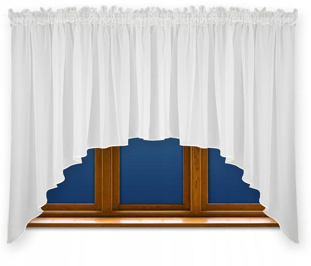 Large Size of Bogen Gardinen Amazonde Fkl Schne Fertiggardine Fenstergardine Gardine Aus Bogenlampe Esstisch Schlafzimmer Scheibengardinen Küche Für Die Wohnzimmer Fenster Wohnzimmer Bogen Gardinen