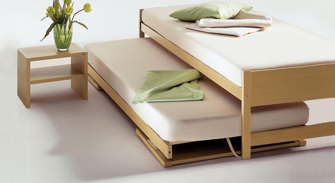 Large Size of Ausziehbett On Top Ausziehbares Bett Wohnzimmer Ausziehbares Doppelbett