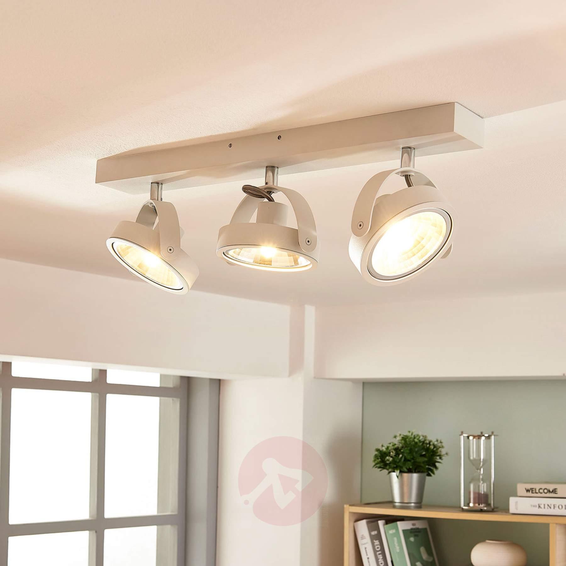 Full Size of Moderne Led Deckenlampe Lieven In Wei Kaufen Lampenweltde Schlafzimmer Küche Holz Modern Deckenleuchte Wohnzimmer Deckenlampen Weiss Für Esstisch Tapete Wohnzimmer Deckenlampe Modern