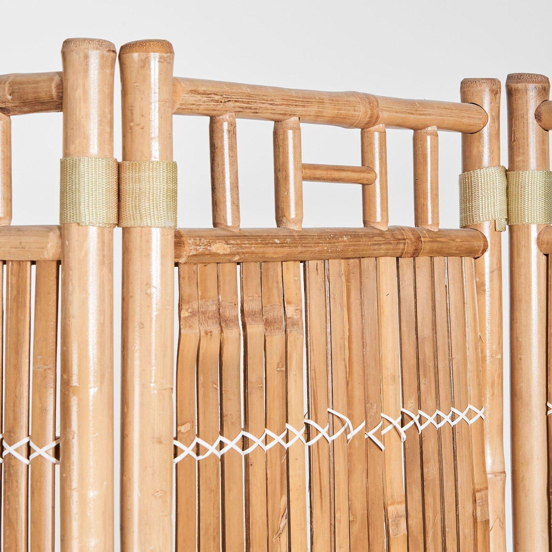 Full Size of Paravent Bambus Balkon Safari 120 4 180 Cm Natur Kaufen Bei Obi Bett Garten Wohnzimmer Paravent Bambus Balkon