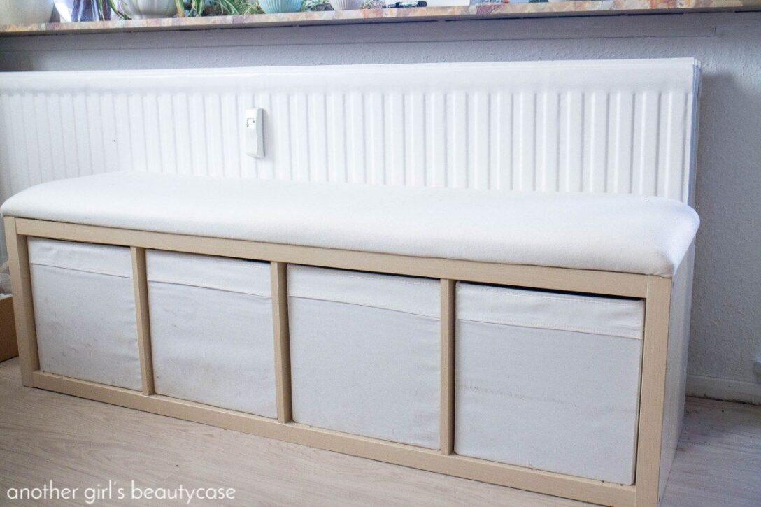 Large Size of Ikea Hack Sitzbank Aus Kallaregal Betten Bei Garten Minikche Modulküche Outdoor Küche Kaufen Schneidemaschine Holzküche Fliesenspiegel Glas Rollwagen Wohnzimmer Sitzbank Küche Ikea