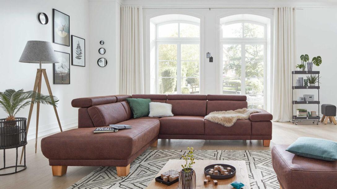 Large Size of Großes Ecksofa Interliving Sofa Serie 4252 Eckkombination Bild Wohnzimmer Regal Bezug Mit Ottomane Bett Garten Wohnzimmer Großes Ecksofa