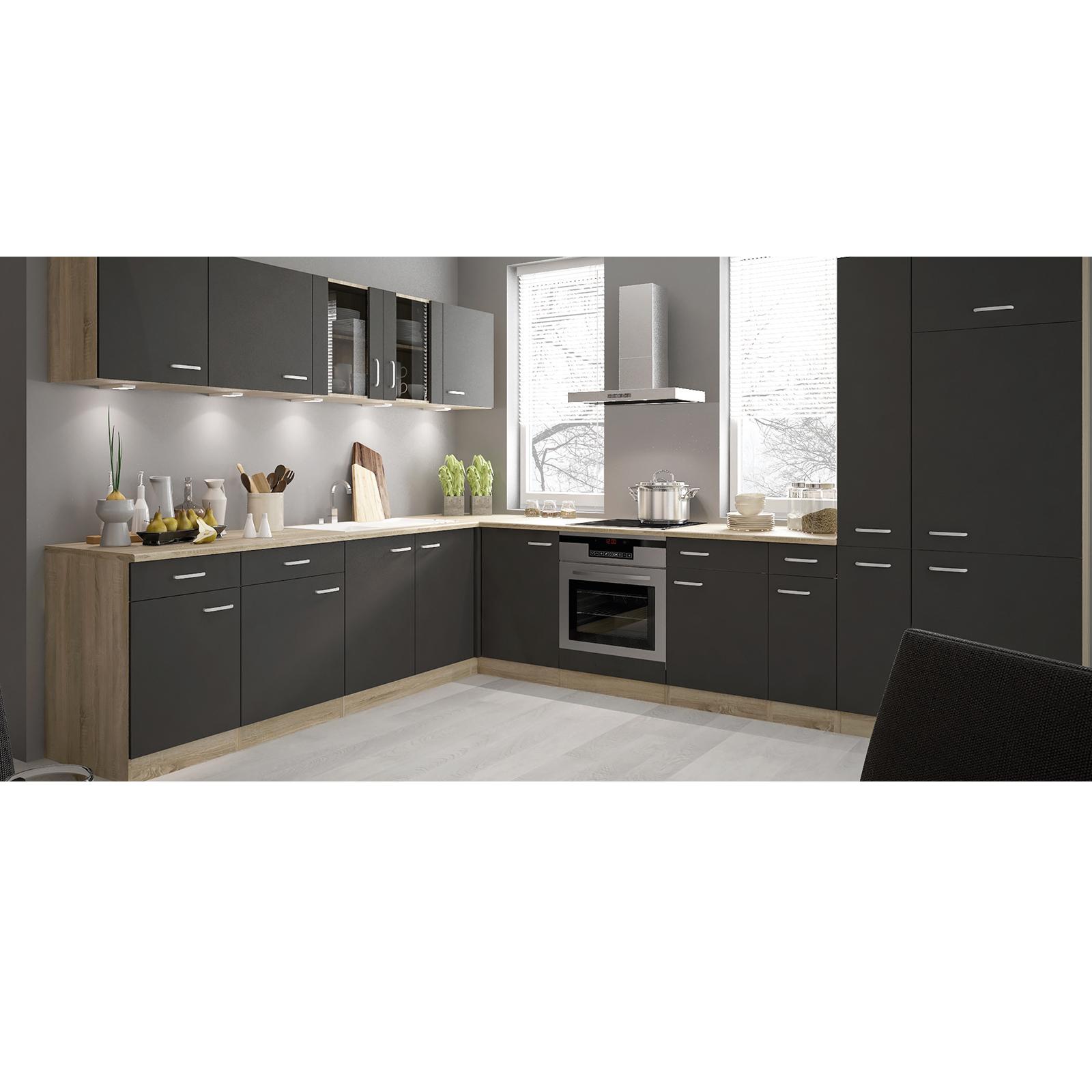 Full Size of Apothekerschrank Anthrazit Sonoma Eiche 30 Cm Breit Online Küche Wohnzimmer Apothekerschrank Halbhoch