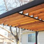 Holz Pergola Modern Kaufen Selber Bauen Bausatz So Installieren Sie Moderne Sparren Ohne Halter Haus Styling Holztisch Garten Sofa Mit Holzfüßen Wohnzimmer Holz Pergola Modern