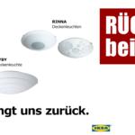 Rckruf Ikea Deckenleuchten Hyby Bad Küche Kosten Schlafzimmer Wohnzimmer Modulküche Sofa Mit Schlaffunktion Betten 160x200 Kaufen Miniküche Bei Wohnzimmer Deckenleuchten Ikea