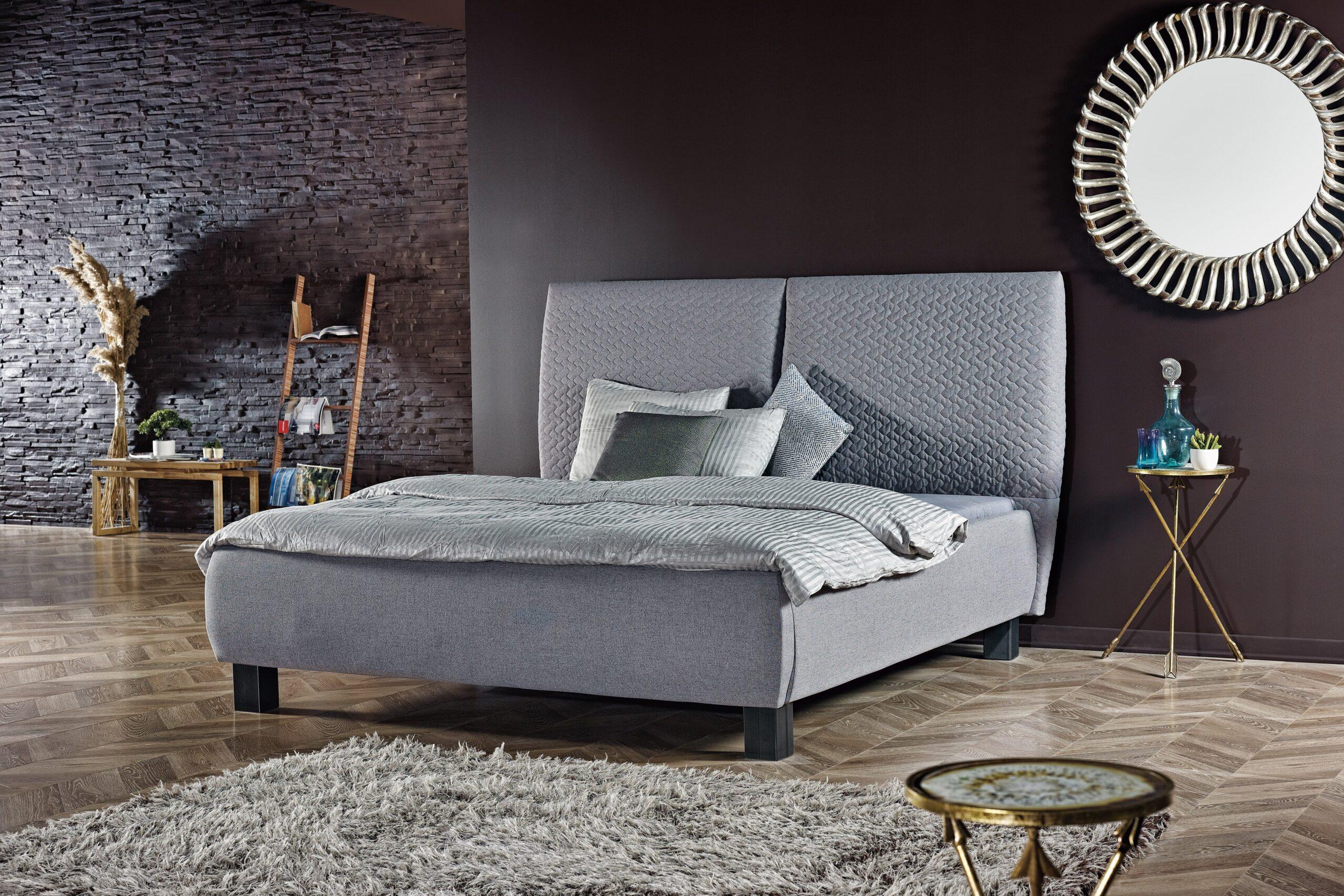 Full Size of Polsterbett 200x220 Bed Bo2010 Grau Mbel Letz Ihr Online Shop Bett Betten Wohnzimmer Polsterbett 200x220