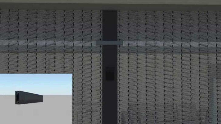 Medium Size of Fliegengitter Magnetvorhang Von Jarolift Montage Youtube Vorhang Küche Bad Wohnzimmer Wohnzimmer Vorhang Terrassentür