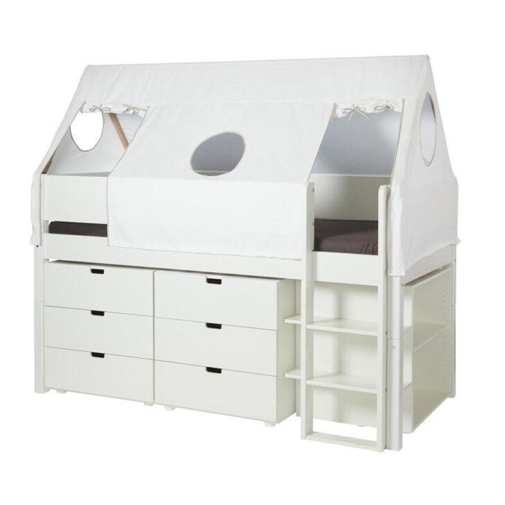 Medium Size of Halbhohes Hochbett Manis H Bett Arn In Bunten Farben Im Wallenfels Onlineshop Wohnzimmer Halbhohes Hochbett