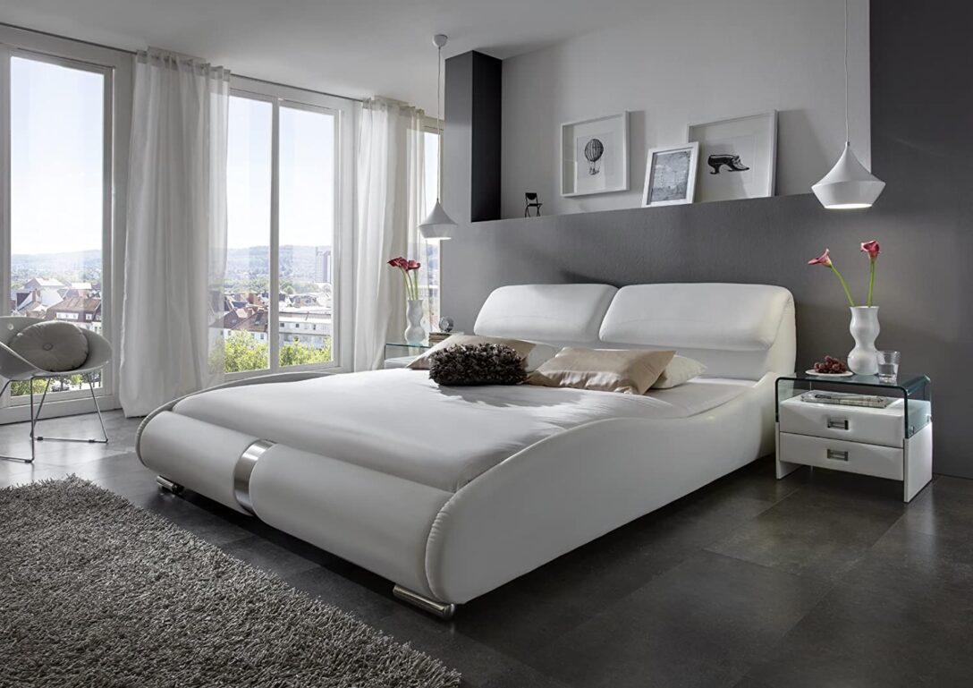Large Size of Sam Design Polsterbett 200x220 Cm Lecce In Wei Bett Betten Wohnzimmer Polsterbett 200x220