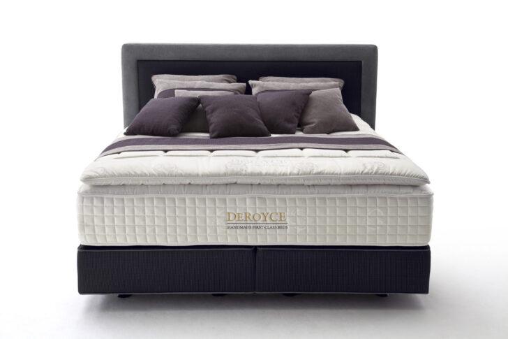 Medium Size of Polsterbett 200x220 Deroyce Boxspringbett Als Mit Taschenfederkern Bett Betten Wohnzimmer Polsterbett 200x220