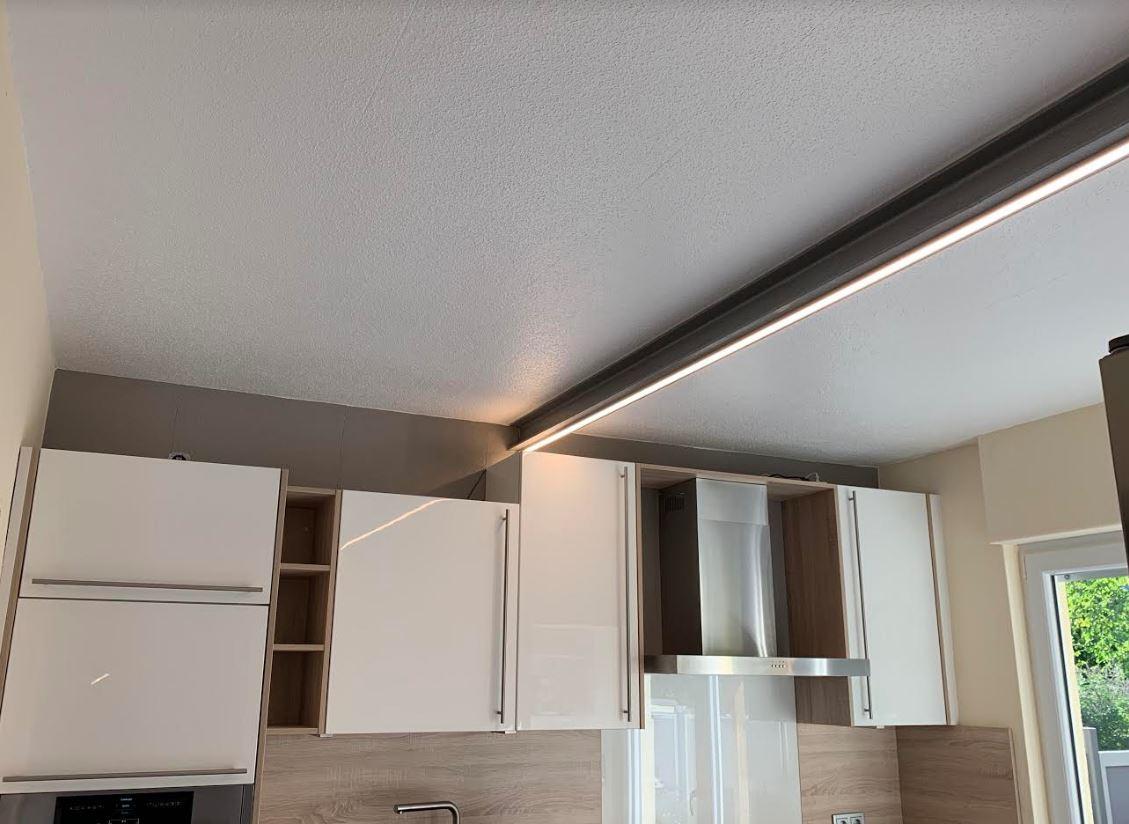 Full Size of Eine Neue Led Beleuchtung In Der Kche Blog Everen Germany Wasserhahn Küche Vorhänge Mit Elektrogeräten Einrichten Ohne Hängeschränke Unterschränke Wohnzimmer Led Panel Deckenleuchte Küche