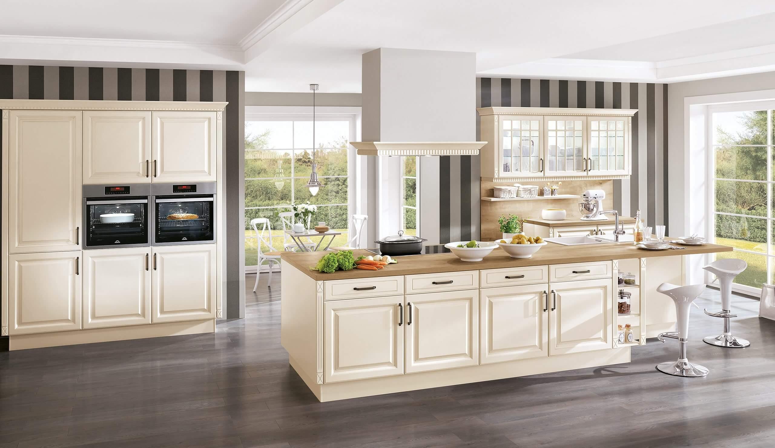 Full Size of Landhaus Einbaukche Norina 8224 Magnolia Kchenquelle Küchen Regal Wohnzimmer Küchen Quelle