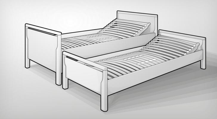 Medium Size of Seniorenbett 90x200 Bett Mit Lattenrost Weißes Und Matratze Kiefer Schubladen Weiß Bettkasten Betten Wohnzimmer Seniorenbett 90x200
