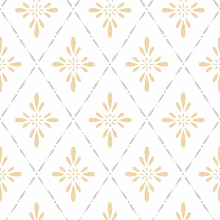 Medium Size of Duro Tapete 1900 Ljungbacka Yellow Dro 392 02 Landhaus Schlafzimmer Küche Moderne Landhausküche Fototapete Fenster Tapeten Für Die Gebraucht Bett Wohnzimmer Landhaus Tapete