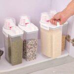 2l Kunststoff Aufbewahrungsbehlter Aufbewahrungsbehälter Küche Wohnzimmer Aufbewahrungsbehälter