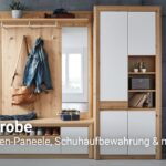 Garderobe Mbeliyoutube Küchen Regal Wohnzimmer Möbelix Küchen