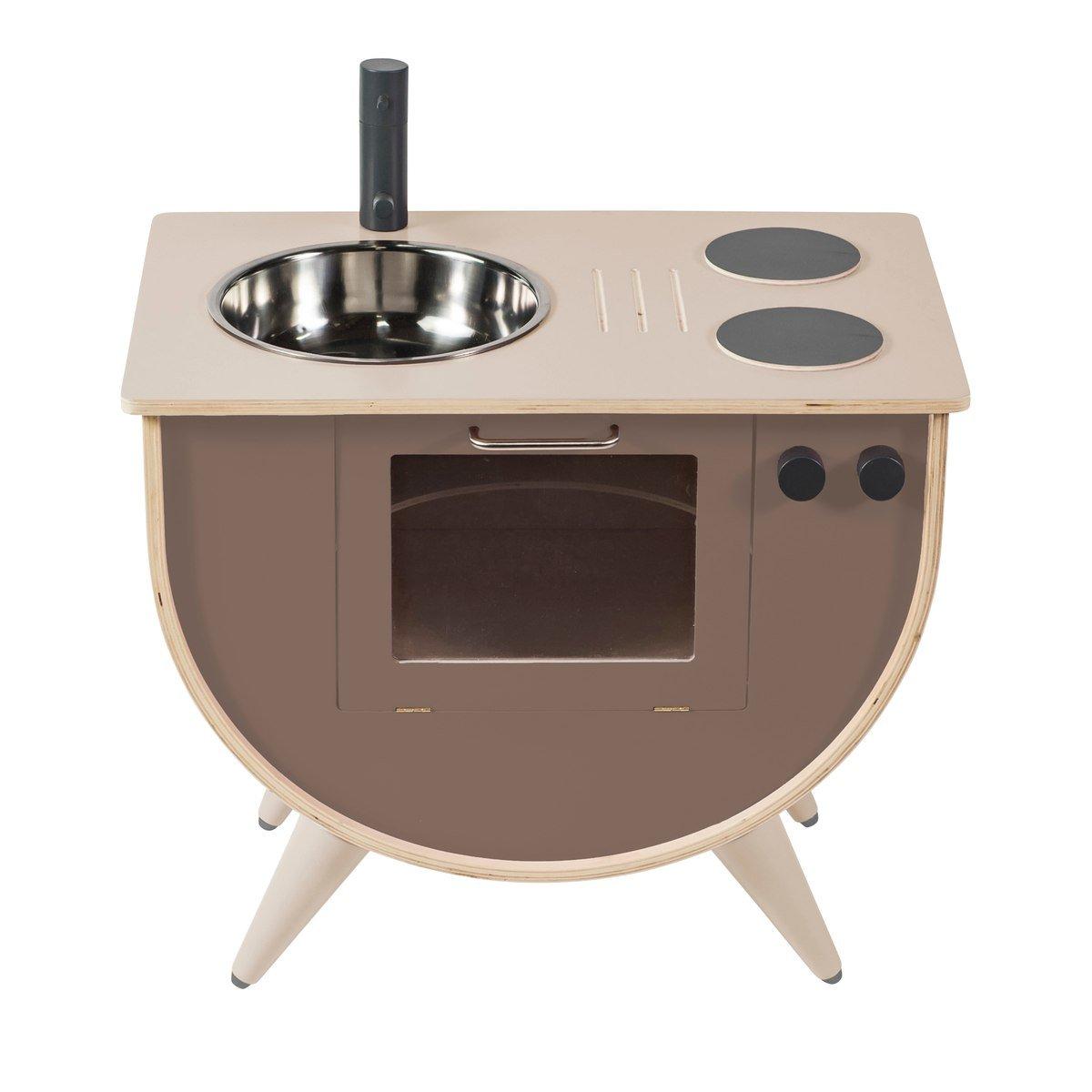 Full Size of 1 Sebra Spielkche Aus Holz In Warm Grau Online Kaufen Kidswoodlove Kinder Spielküche Wohnzimmer Spielküche