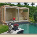 Gartensauna Bausatz Wohnzimmer Gartensauna Bausatz Modern Aussensauna Kaufen Holzonde