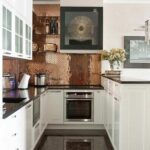 Küchen Fliesenspiegel Rckwand Der Kche In Kupfer Gestalten 20 Ideen Fr Den Regal Küche Selber Machen Glas Wohnzimmer Küchen Fliesenspiegel