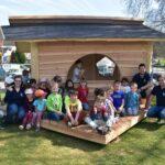 Spielhaus Kinder Garten Wohnzimmer Der Campus Kindergarten Hat Ein Neues Spielhaus Berufliches Kinderschaukel Garten Holz Gartenüberdachung Edelstahl Lounge Sessel Sauna Kunststoff Loungemöbel