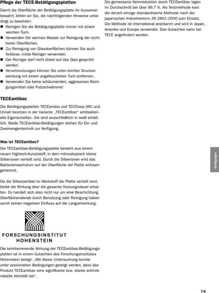 Medium Size of Teceone Test Bettigungen Tece Technische Informationen Pdf Drutex Fenster Dusch Wc Sicherheitsfolie Betten Bewässerungssysteme Garten Wohnzimmer Teceone Test
