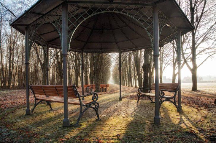 Medium Size of Metallpavillon Test Empfehlungen 05 20 Gartenbook Garten Pavillon Wohnzimmer Pavillon Eisen