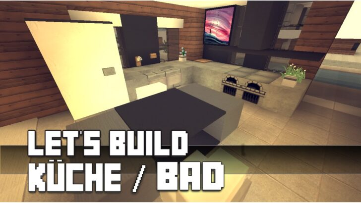 Medium Size of Moderne Küchen Kche Einrichtung Minecraft Mbel Tutorial Modernes Bett 180x200 Bilder Fürs Wohnzimmer Sofa Regal Deckenleuchte Duschen Esstische Wohnzimmer Moderne Küchen Küchen