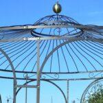 Pavillon Eisen Wohnzimmer Pavillons Aus Schmiedeeisen Handgefertigt Von Eleo Pavillon Garten