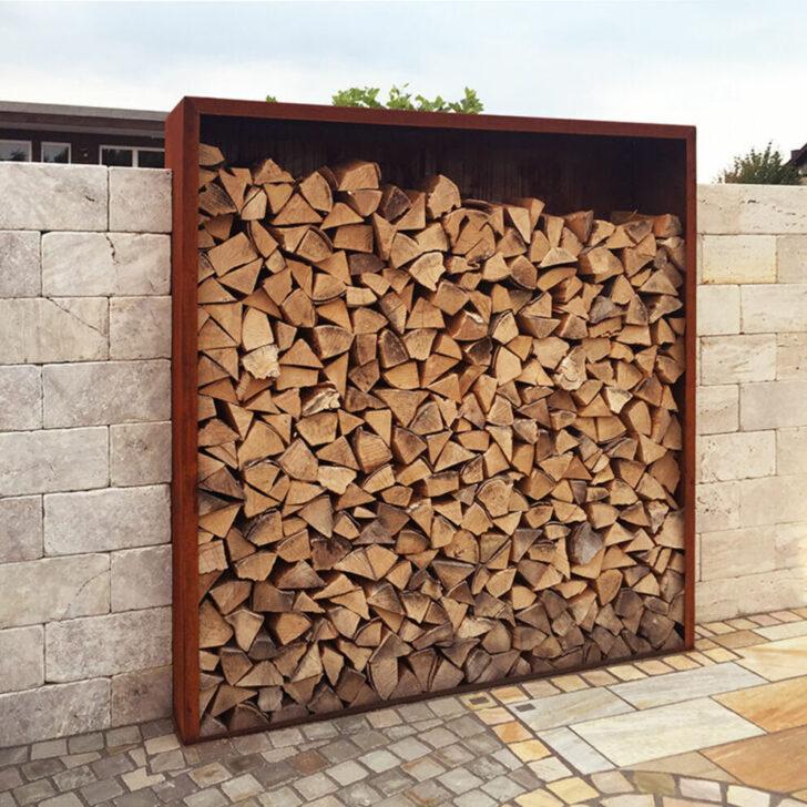 Medium Size of Holzlege Cortenstahl Wohnzimmer Holzlege Cortenstahl